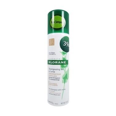 Klorane KLORANE Shampooing sec a l'ortie seboreducteur 150 ml - Isırgan Otlu Renkli Kuru Şampuan (Kahverengi - Koyu Saç) Renksiz